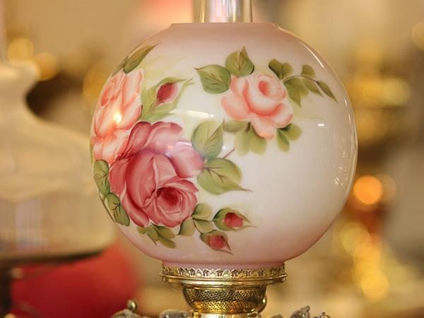 antique lamps 1 - decatur lamp company, decatur al