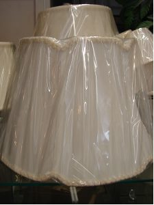 Cloth Lamp shades 2 - decatur lamp company, decatur al