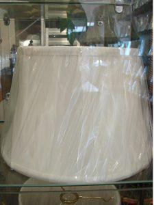Cloth Lamp shades 3 - decatur lamp company, decatur al