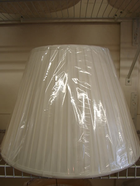 Cloth Lamp shades 6 - Decatur Lamp Company - Decatur AL