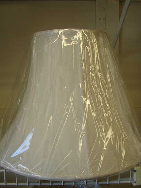 Cloth Lampshade 8 - decatur lamp company, decatur al