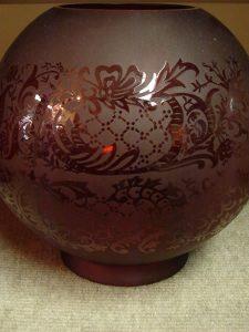 Glass dome Lampshade 1 - decatur lamp company, decatur al