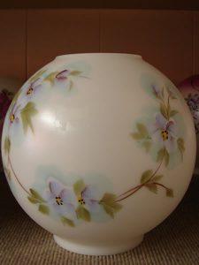 Glass dome Lampshade 6 - decatur lamp company, decatur al