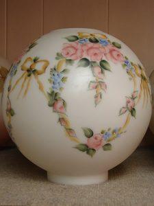Glass dome Lampshade 8 - decatur lamp company, decatur al