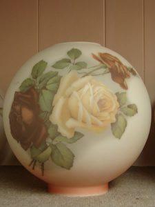 Glass dome Lampshade 9 - decatur lamp company, decatur al