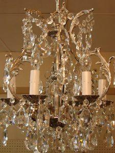 antique chandeliers 2 - decatur lamp company, decatur al