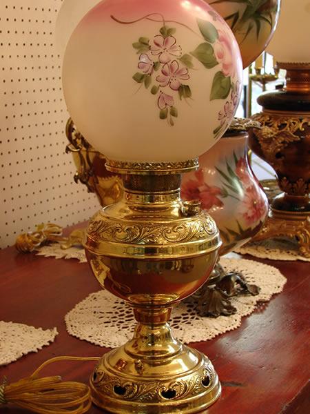 antique lamps 2 - decatur lamp company, decatur al