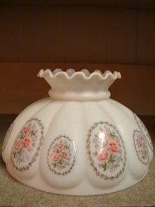 glass antique lamp shades 1 - decatur lamp company, decatur al
