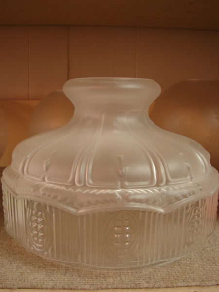 glass antique lamp shades 2 - decatur lamp company, decatur al