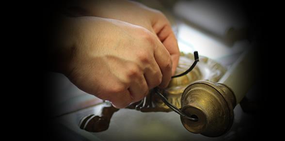 antique lamp repair