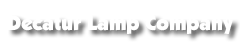 Decatur Lamp Company Logo